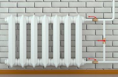 cast iron radiator at home