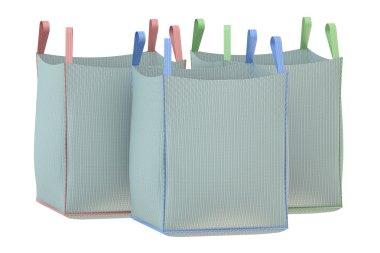 Bulk bags isolated