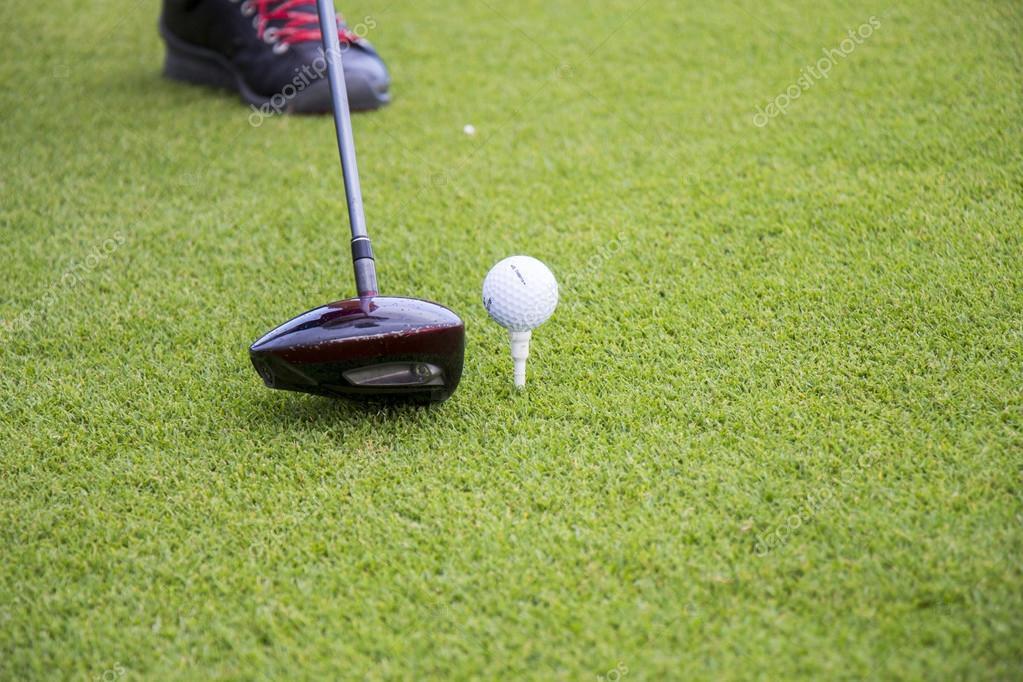 club de golf et balle photographie nilswey 73793969. Black Bedroom Furniture Sets. Home Design Ideas