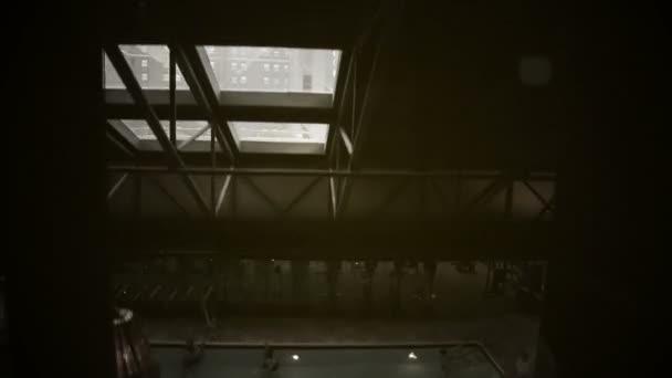 Elevator Ride Down Stock Video C Studiobassd 57557215