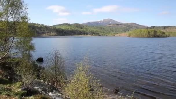 Krásné jezero skotský Loch Garry Dhabi západně od Invergarry na A87 jižně od Fort Augustus a severně od Fort William posunout pohled