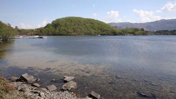 Krásné skotské loch Loch Morar na Vysočině západní Skotsko jižně od Mallaig pan