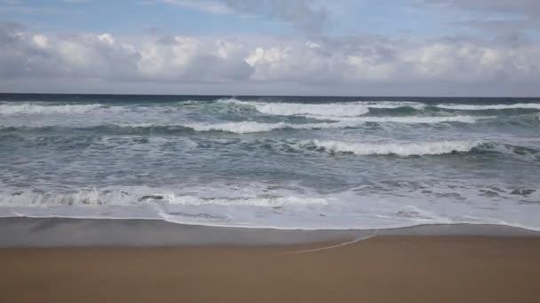 Vlny na Fistral beach Newquay sever Cornwall Anglie Uk