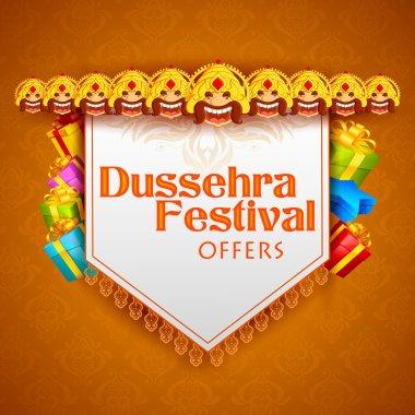 Ravana for Dussehra Festival Offer