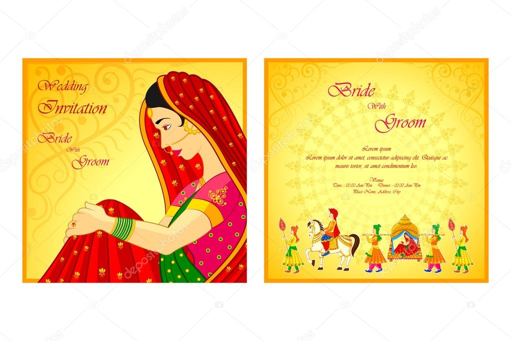 47 119 Indian Wedding Card Vector Images Free Royalty Free Indian Wedding Card Vectors Depositphotos