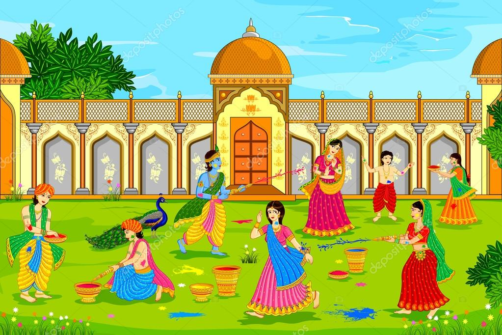 ᐈ Holi Radha Krishna Stock Images Royalty Free Radha Pics Download On Depositphotos