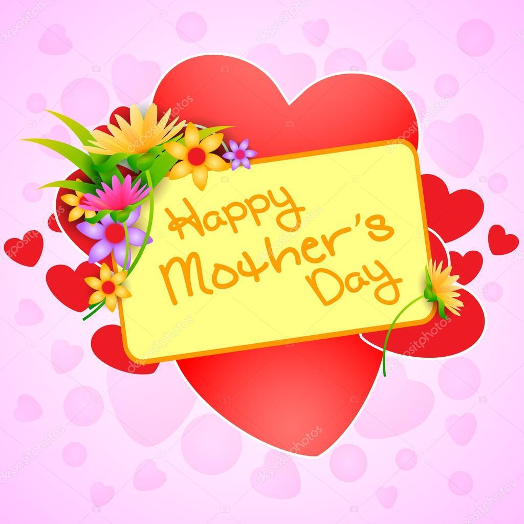 Happy Mothers Day celebration background