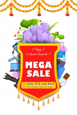 Happy Ganesh Chaturthi Sale offer