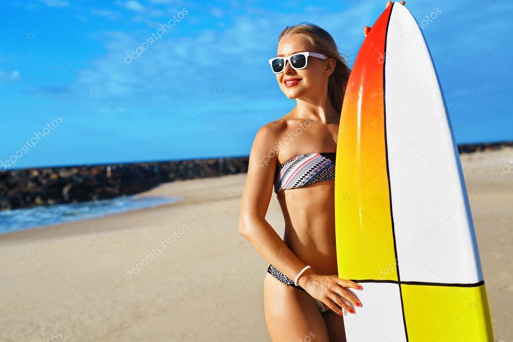girl Surfing surfer