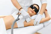 Photo Body Care. Laser Hair Removal. Epilation Treatment. Smooth Skin.