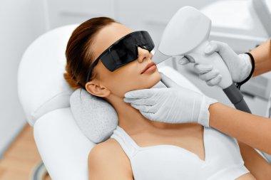 Face Care. Facial Laser Hair Removal. Epilation. Smooth Skin.