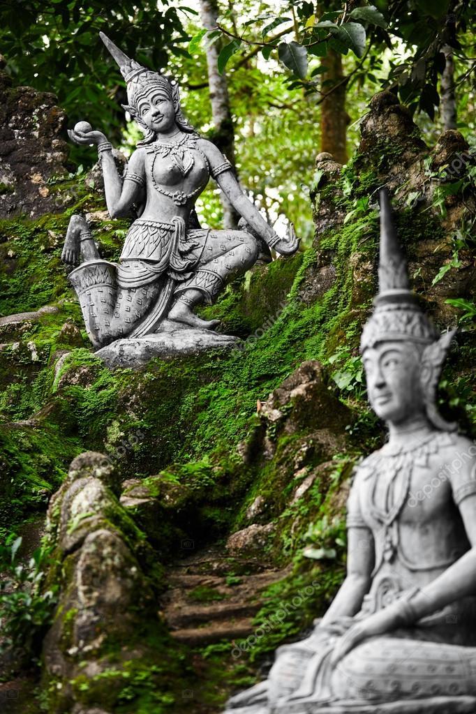 Thailand Magic Secret Buddha Garden, Buddha Garden Statues