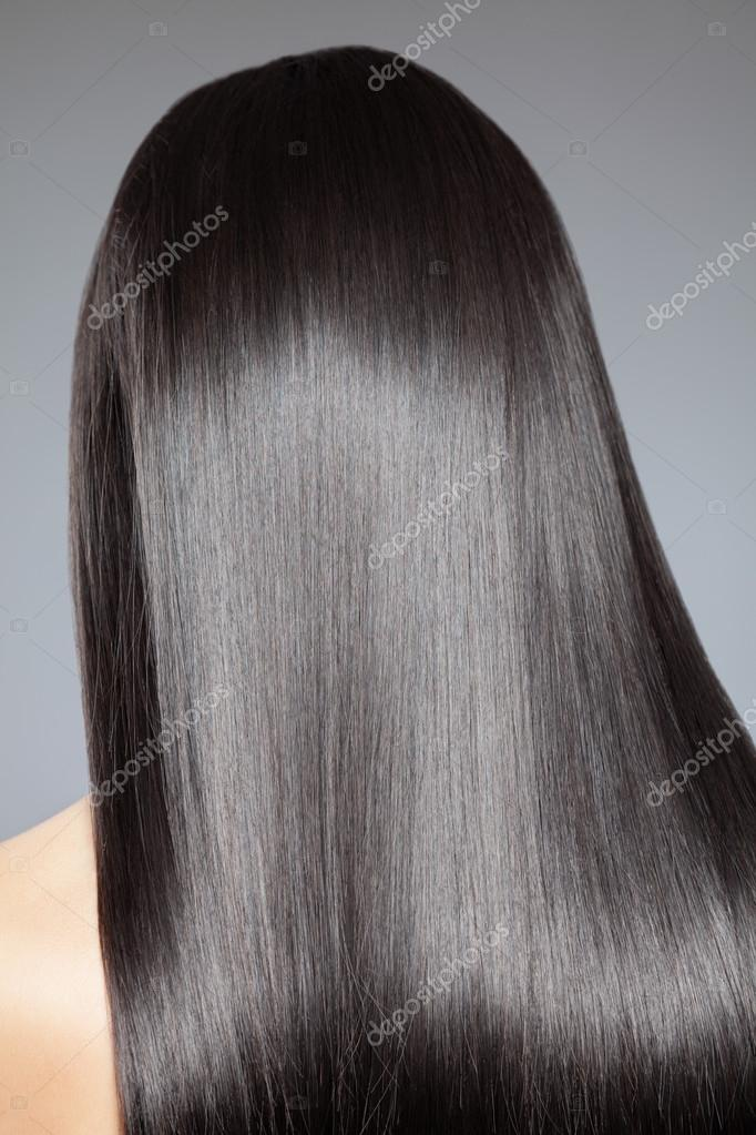 Uzun Düz Saç Stok Foto Tommyandone 65277455