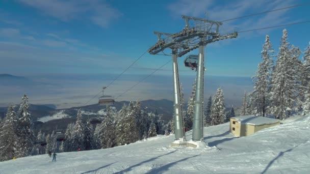Chairlift in Poiana Brasov resort