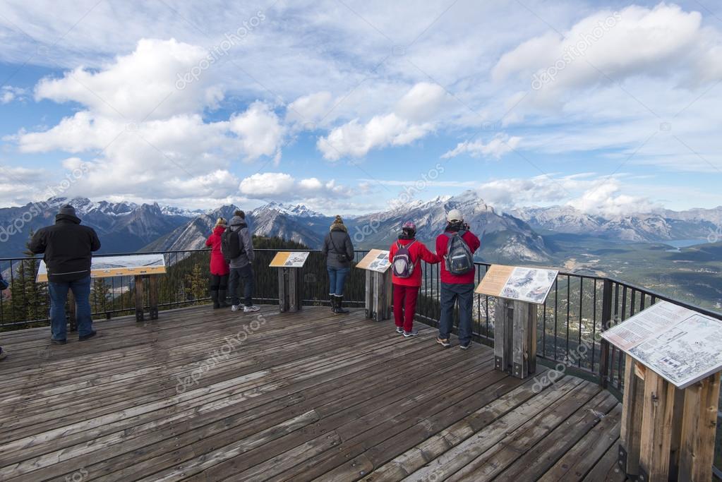 Sulfer Mountain Observation Decks
