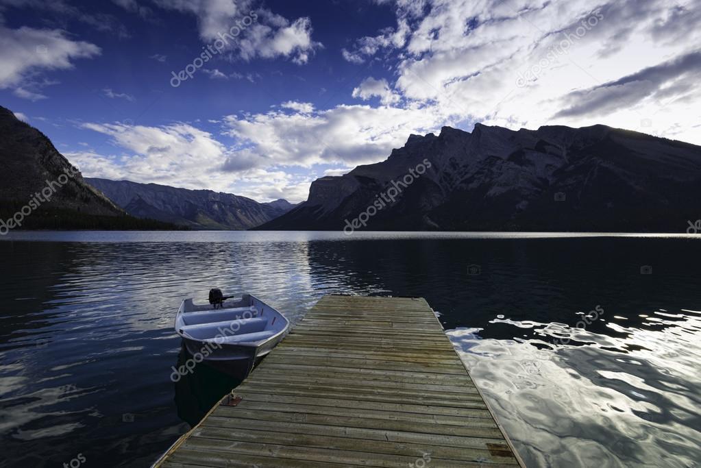 Lake Minnewanka, Banff, Alberta, Canada.