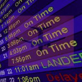 Photo Airliner Arrival Times