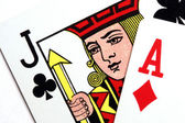 Photo close-up of Playing Cards