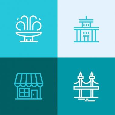 city elements logos