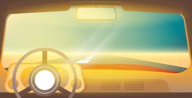 shiny Car interior