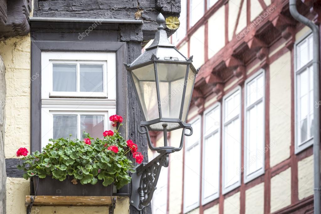 Fenster Fachwerkhaus fenster auf ein fachwerkhaus in der stadt quedlinburg deutschland