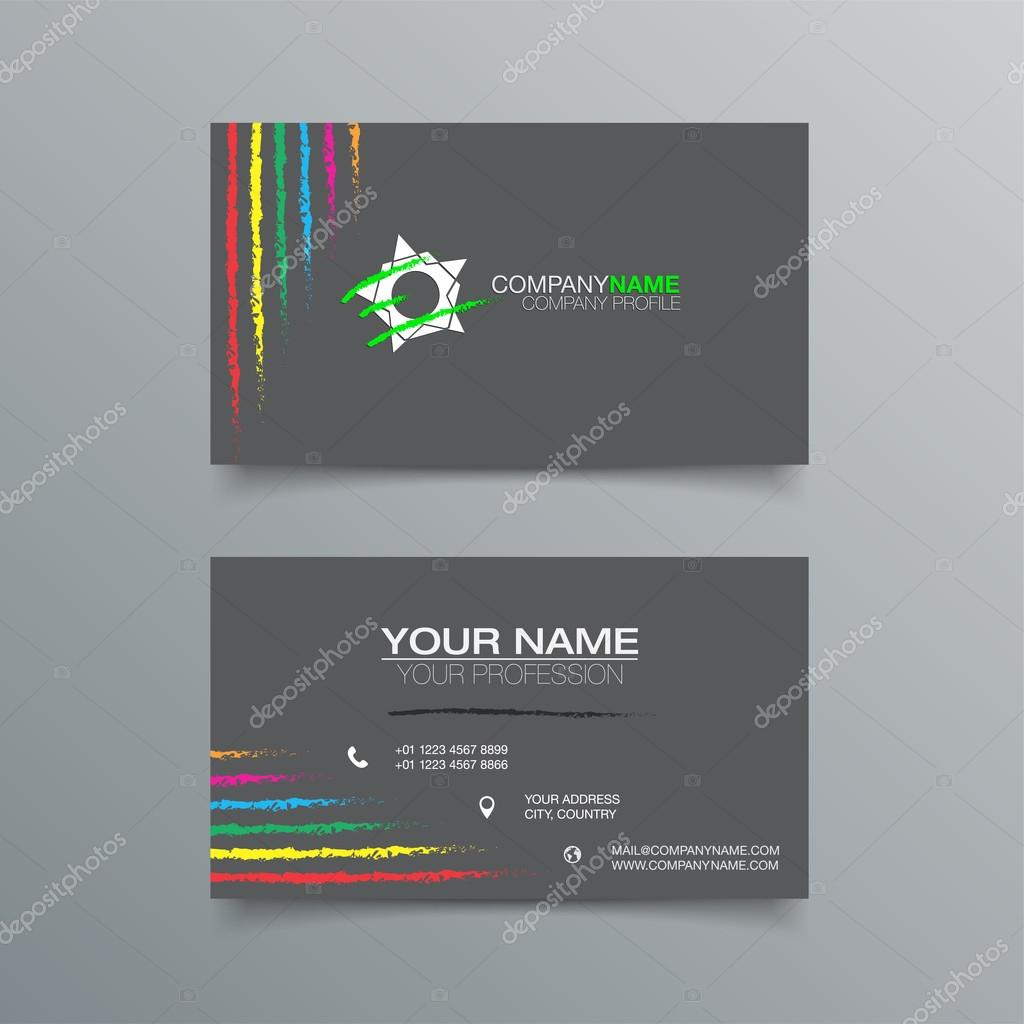 business card background design template stock vector illustration vector by maxmitzu - Business Card Background