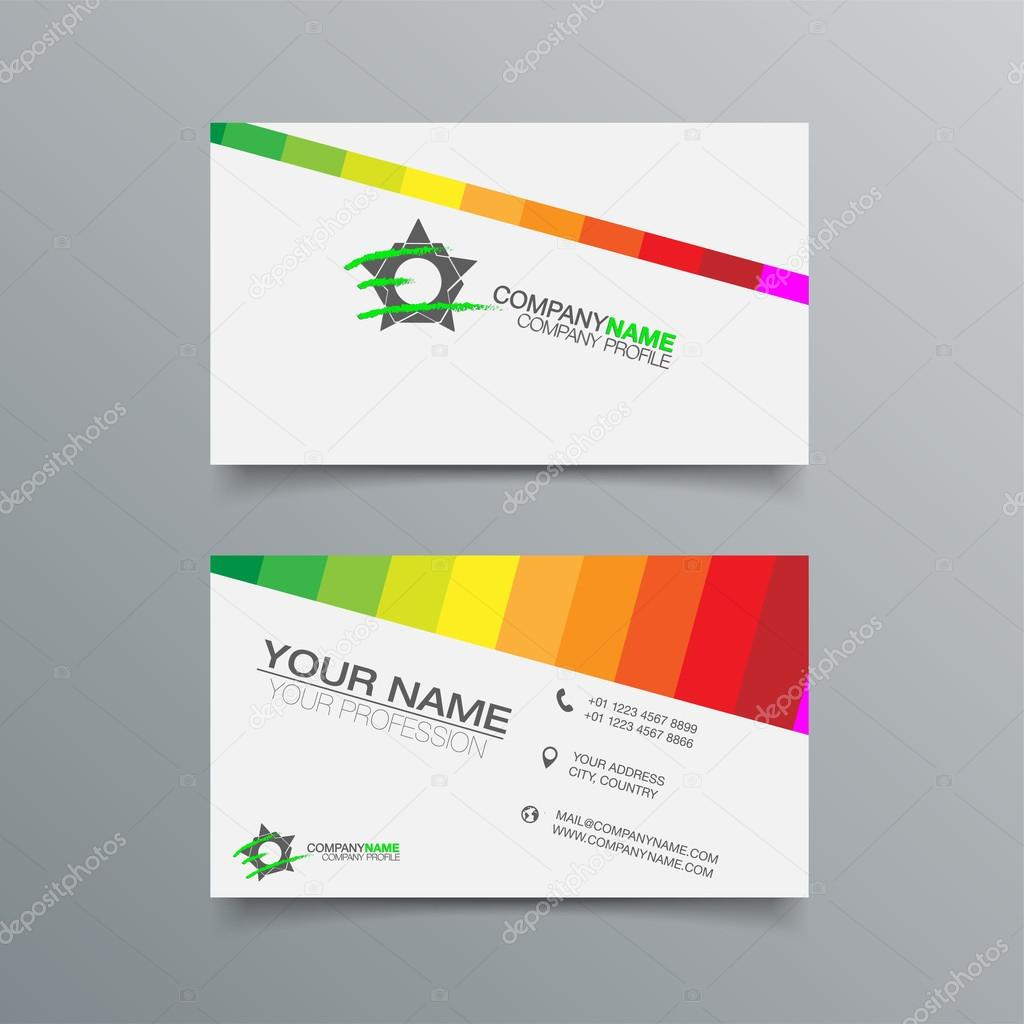 Business Card Background Design — Stock Vector © maxmitzu #80854224
