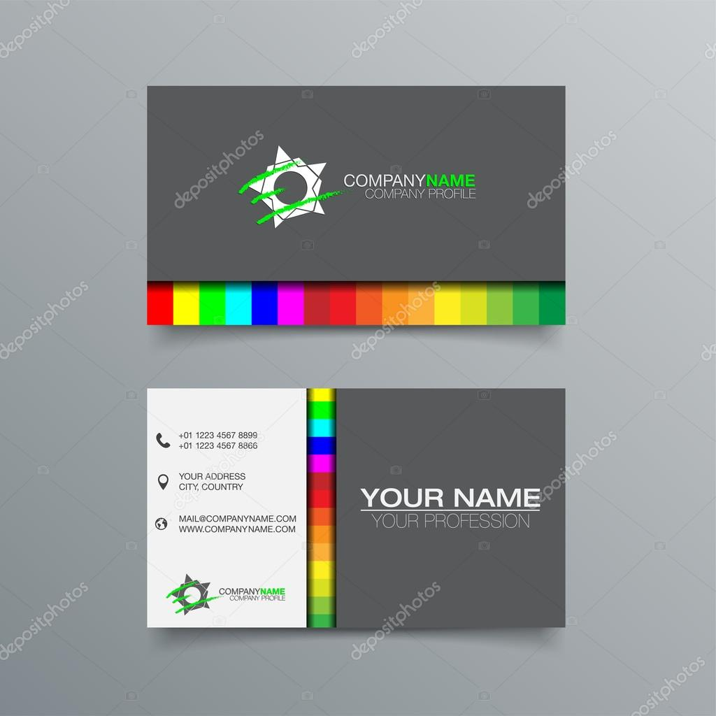 Business card background design stock vector c maxmitzu for Business card background designs