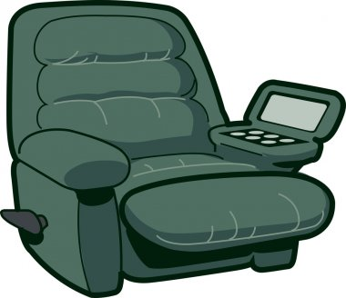 Reclining Chair Illustration