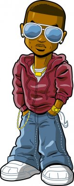 african-american black hip hop rapper