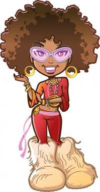 Funky Afro Girl