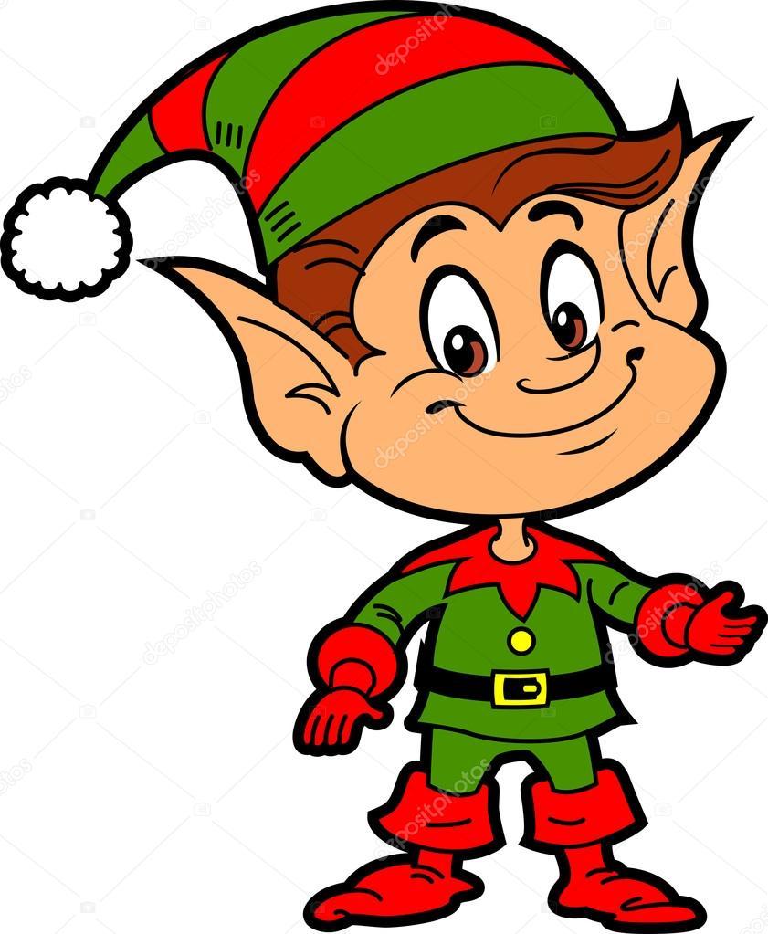 Boy Christmas Santa S Elf Stock Vector 169 Kennyk 90094712
