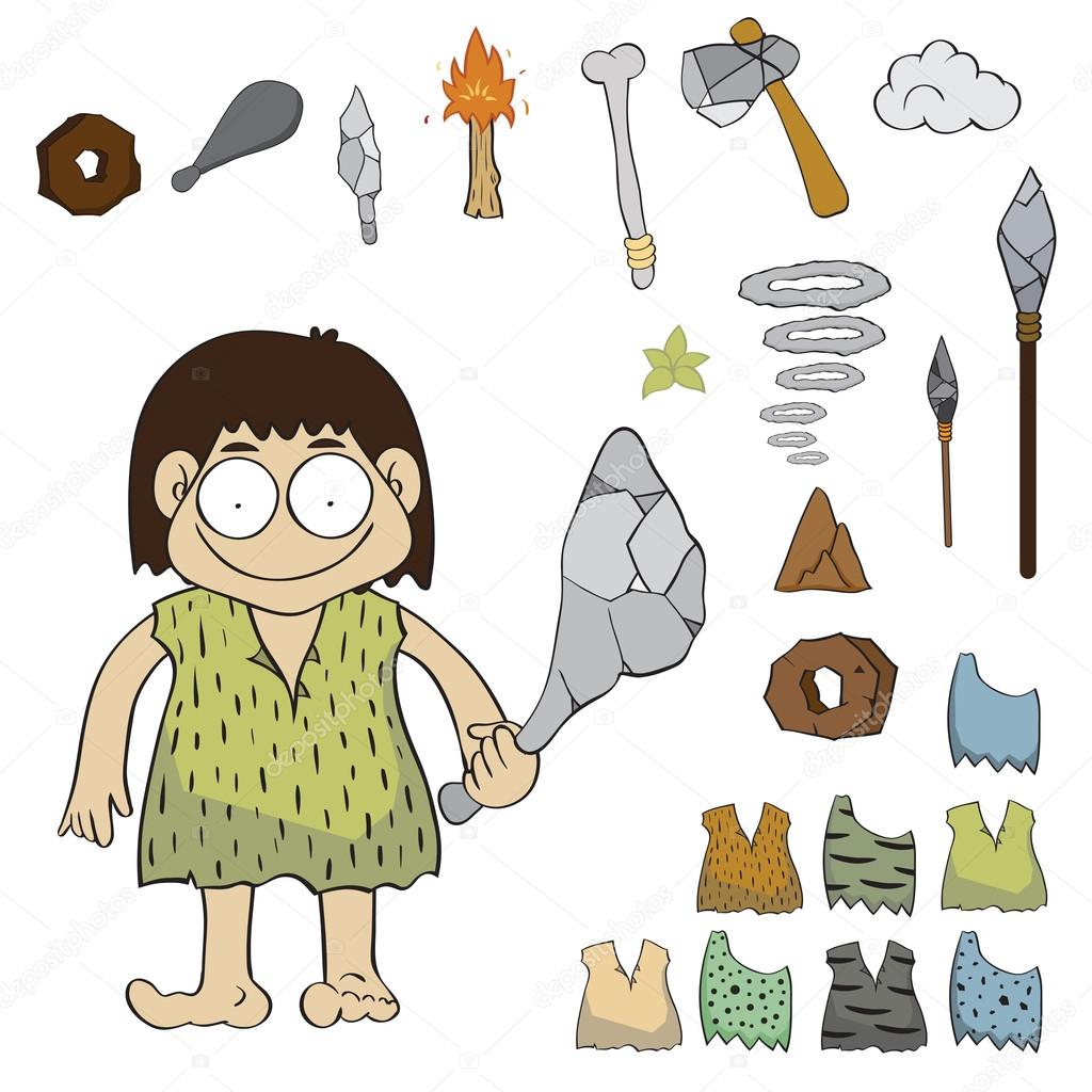Image result for stone age vector