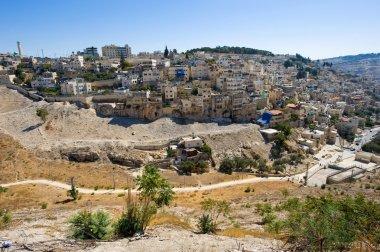Kidron valley in Jerusalem