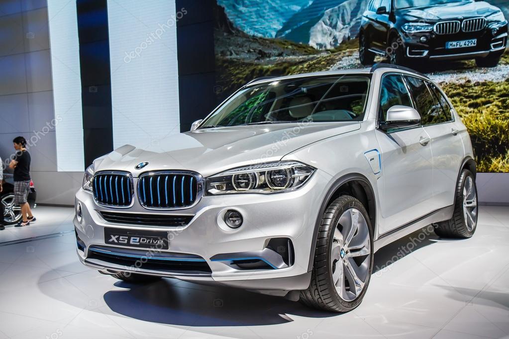 Bangkok, Thailand - April 4, 2015: BMW car shows in 36 Bangkok I