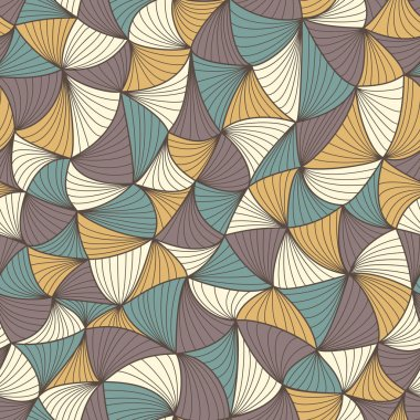 Abstract seamless geometric pattern. Colorful wallpaper. Vector illustration clip art vector