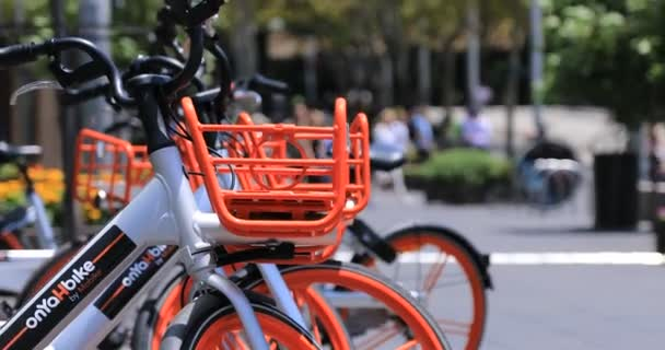 Kolo sdílení ekonomiky v městském městě v Sydney handheld