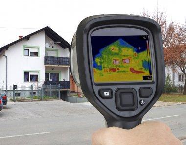 Garage Heat Leak Infrared