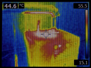 Heat Dissipation Thermal Image