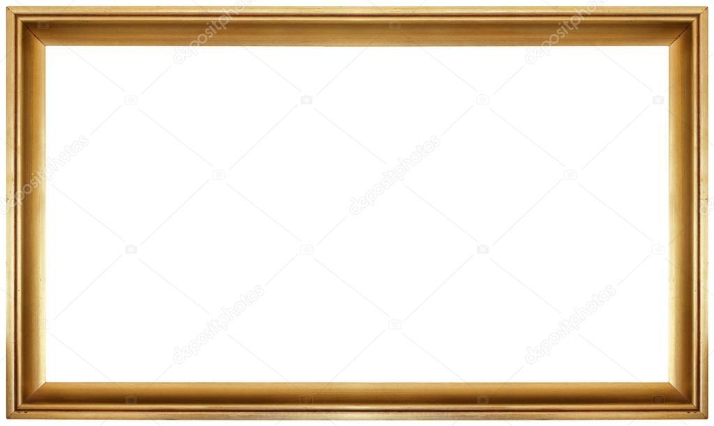 recorte del marco dorado — Fotos de Stock © Suljo #98154348
