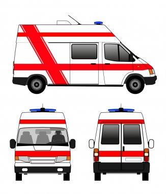 Ambulance emergecny car