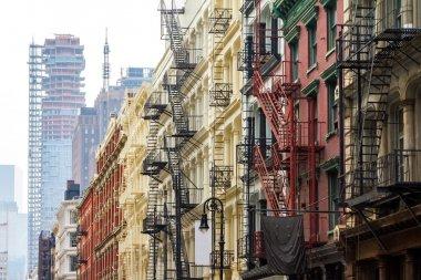 Soho Neighborhood in Manhattan New York City