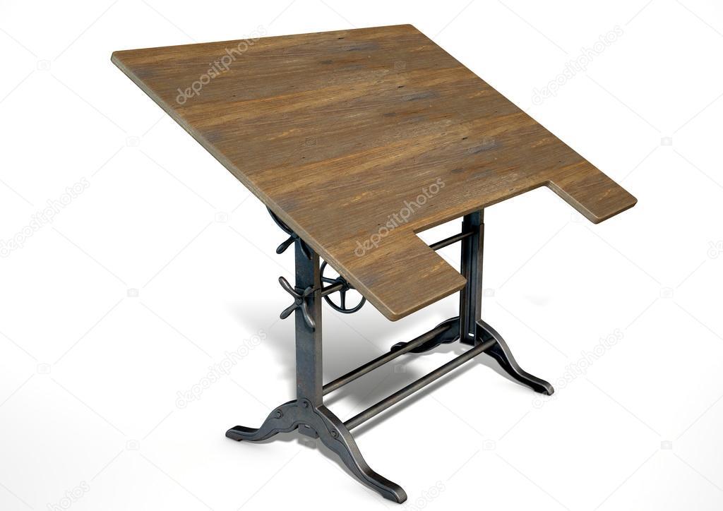 Scrivania Da Disegno : Un tavolo da disegno u foto stock albund