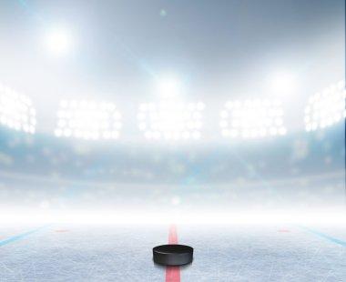 Ice Hockey Rink Stadium