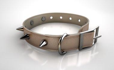 Leather Studded Collar