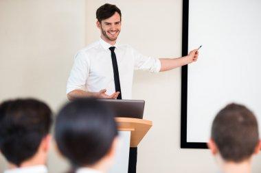 Concept for presentation on seminar