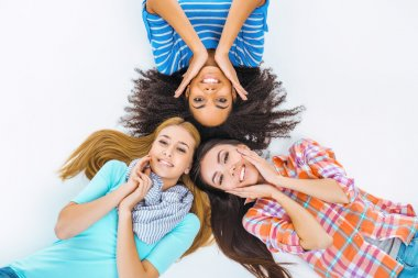 Creative concept for teenage girls