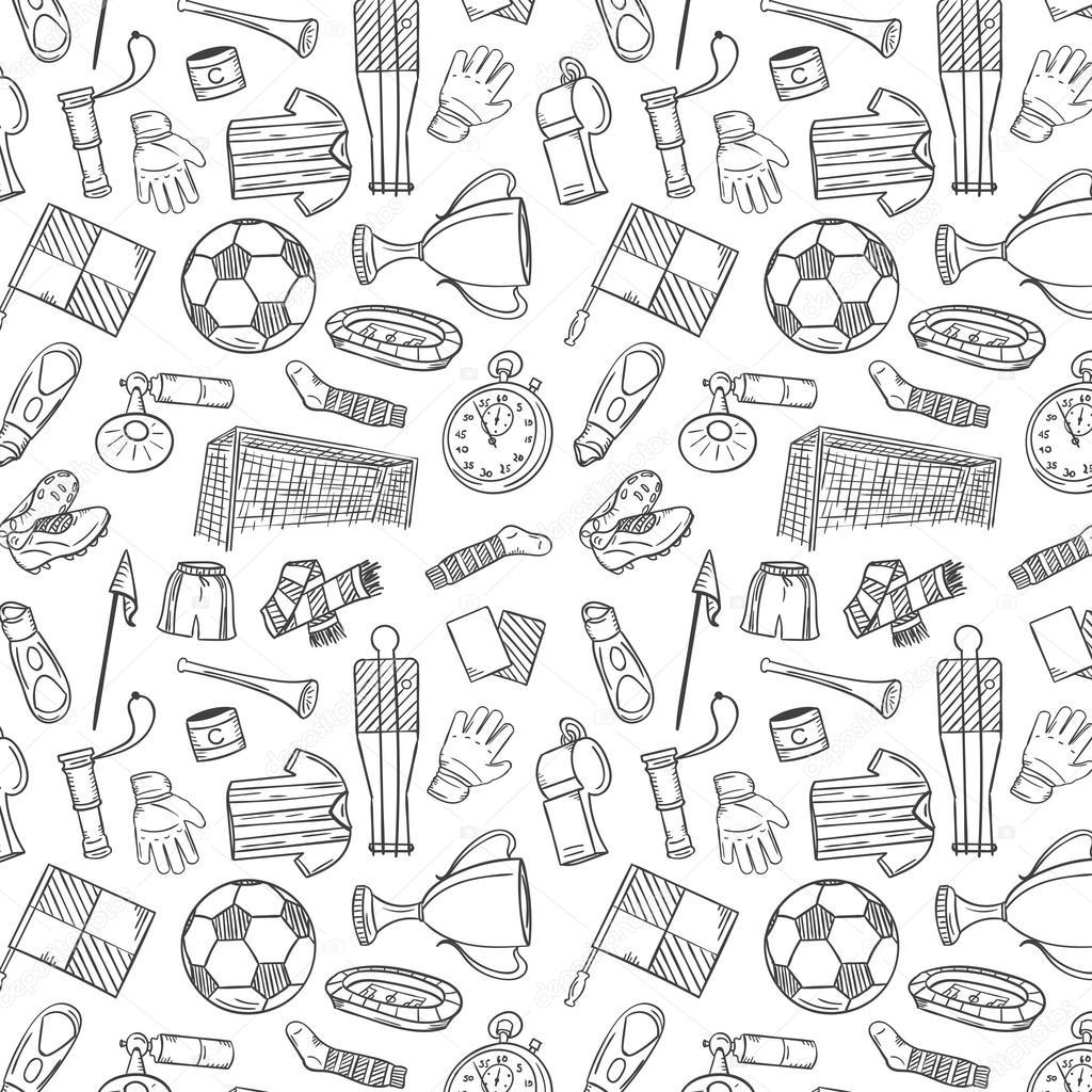 Soccer Pattern Best Design Inspiration