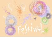 Festival pozadí