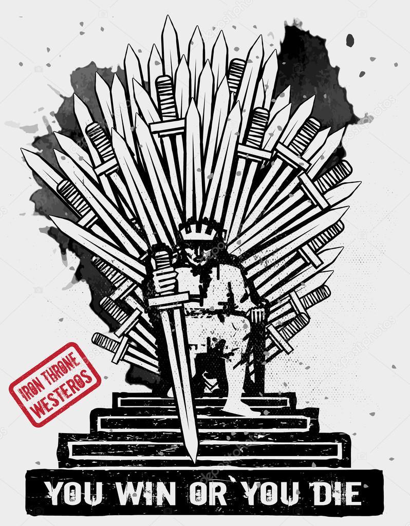Iron Throne Silhouette September 10, 2014: Ve...